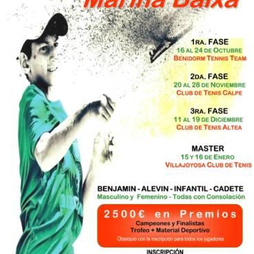 VI Circuito de Tenis Marina Baixa